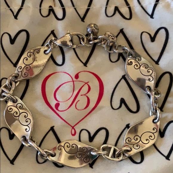 Brighton Jewelry - Brighton Silver Wavy Design Bracelet